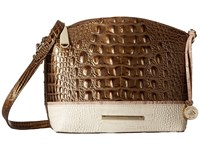 Brahmin Mini Duxbury Oak Handbags Brown