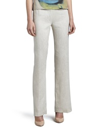 Caroline Rose Linen Pants Natural