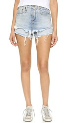 R 13 Double Layer Shorts Bristol Blue
