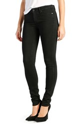 Women's Paige Denim 'Transcend Leggy' Ultra Skinny Jeans Black Shadow Long