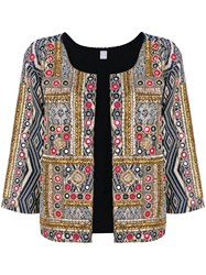 History Repeats Bead Embroidered Jacket Multicolour