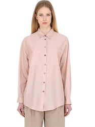 Trussardi Cotton Poplin Shirt