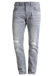 Tom Tailor Denim Piers Slim Fit Jeans Stone Grey Grey Denim