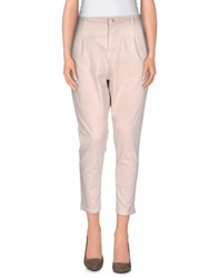 Met Miami Cocktail Trousers Casual Trousers Women Beige
