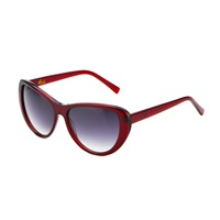 Heidi London Ruby Red Classic Cateye Sunnies