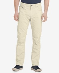 G.H. Bass And Co. Men's Cliff Peak Classic Fit Stretch Pants Silver Birch