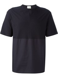 Stephan Schneider Two Tone T Shirt Blue