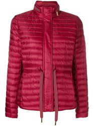 Michael Michael Kors Feather Down Puffer Jacket Red