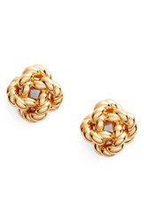 Tory Burch Women's Rope Knot Stud Earrings Tory Gold