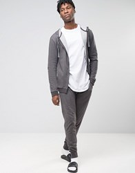 Esprit Joggers With Cuffed Ankle In Regular Fit Grey