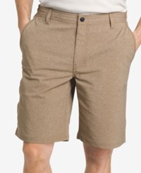 G.H. Bass And Co. Men's Performance Heathered Cotton Shorts Ermine