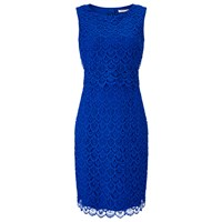 Precis Petite Floating Bodice Dress Bright Blue