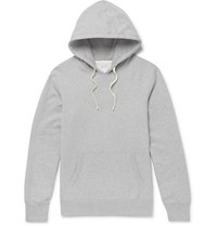 Reigning Champ Loopback Cotton Jersey Pullover Hoodie Gray