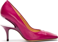 Maison Martin Margiela Fuchsia Cut Out Heel Pumps
