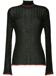 Ellery Thin Knit Sweater Black