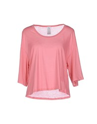 Uniqueness Topwear T Shirts Women Light Purple