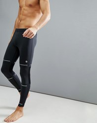 Asics Running Lite Show Reflective Tights In Black 154580 0904