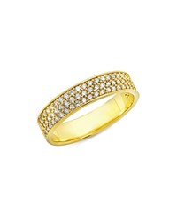 Crislu Pave Ring Gold Clear