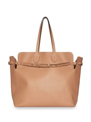 Burberry The Large Soft Leather Belt Bag Neutrals