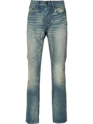 Prps Stone Washed Jeans Blue