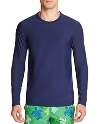 Vilebrequin Long Sleeve Rash Guard Swim Top Navy