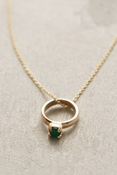 Anthropologie Birthstone Ring Choker Holly