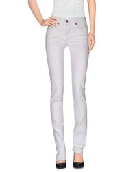 H Lls B Lls Trousers Casual Trousers Women White
