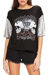Missguided Women's Thrasher Tee