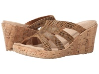 Crocs A Leigh Snake Pattern Sandal Wedge Brown Snake Women's Wedge Shoes