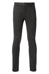Calvin Klein Men's Piper Chino Stretch Yd Knitted Nap Charcoal