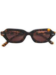 Oliver Peoples La Cc Sunglasses Brown