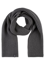 Jack Wolfskin Milton Scarf Grey Heather Dark Grey