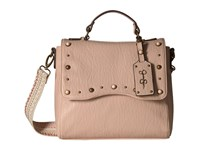 Jessica Simpson Skye Flap Crossbody Black Santorini Cross Body Handbags Beige