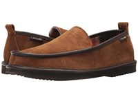 L.B. Evans Vernan Chestnut Men's Slippers Brown