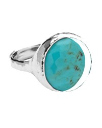 Ippolita Sterling Silver Rock Candy Lollipop Ring In Turquoise Size 7