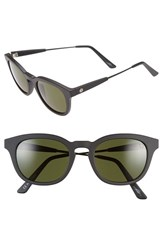 Electric Eyewear Women's Electric 'La Txoko' 49Mm Sunglasses Matte Black Grey