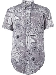 Jean Paul Gaultier Vintage Printed Shirt Grey