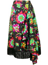 La Doublej Jungle Skirt Black