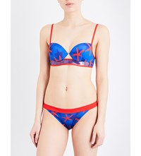 La Perla Summer Energy Underwired Bikini Top Dark Blue