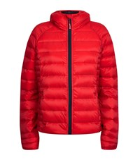 Canada Goose Brookvale Quilted Hooded Jacket Female Poppy