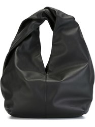 J.W.Anderson J.W. Anderson Twisted Handle Tote Black