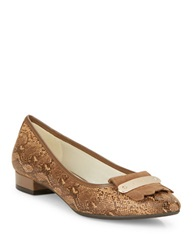 Anne Klein Kallima Woven Flats Light Brown