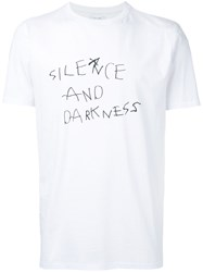 Soulland 'Silence And Darkness' T Shirt Men Cotton M White