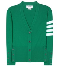 Thom Browne Cashmere Cardigan Green