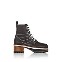 Sies Marjan Jessa Leather Ankle Boots Brown
