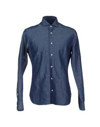 Tonello Shirts Shirts Men Blue