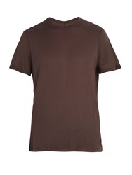 Rick Owens Crew Neck T Shirt Red