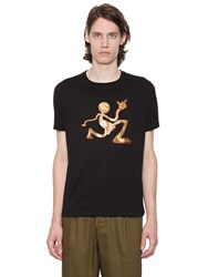 J.W.Anderson Print Mercury Man Cotton Jersey T Shirt