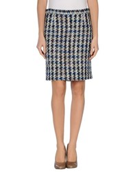 By Malene Birger Skirts Knee Length Skirts Women Bright Blue
