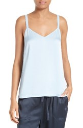 Vince Women's Satin Camisole Chambray